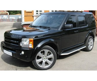 Боковые пороги Land Rover Discovery 3/4